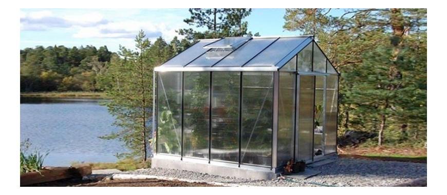 Découvrez notre gamme de serres de jardin en polycarbonate alvéolaire